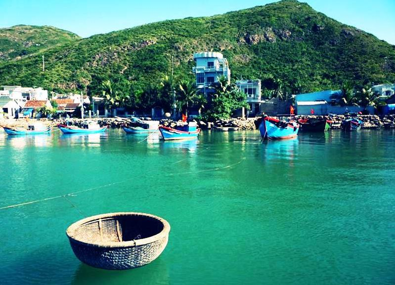 Quy Nhon (Binh Dinh) Vietnam  City new picture : Cu Lao Xanh is an amazing isle located 20km from Quy Nhon City. Cu Lao ...