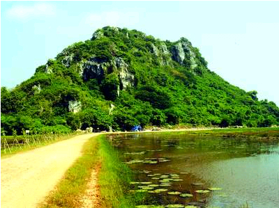 Da Dung mountain, Visiting top 10 destinations in Ha Tien, Kien Giang province