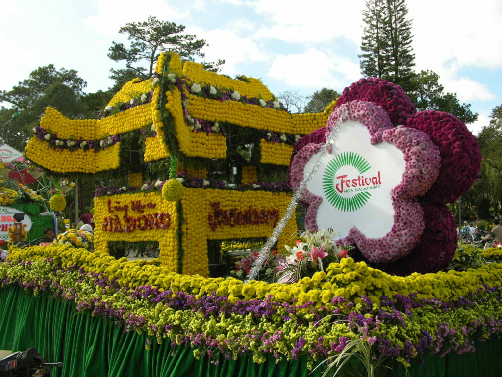Flowers Festival in Da Lat