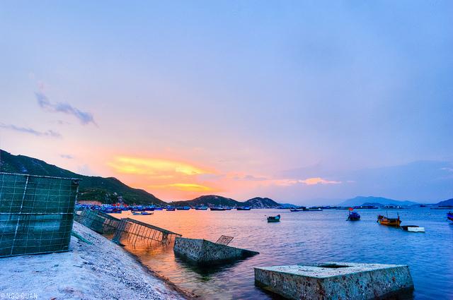 lobster island of Binh Ba in Cam Ranh, Khanh Hoa