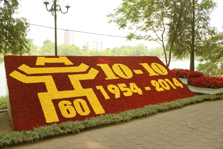 celebrating 60th anniversary of the capital's liberation