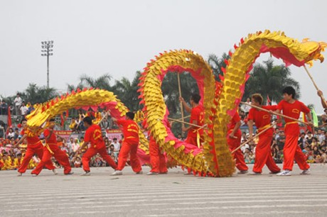 Dragon Dance Festival is going to held near HoanKiem Lake in Hanoi