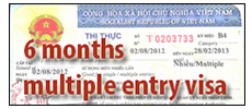 Vietnam 6 month multiple entry visa: No longer fiction